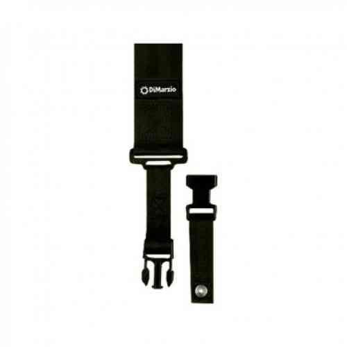 Dimarzio 3 Inch Nylon Cliplock Strap Black DD2200NBK
