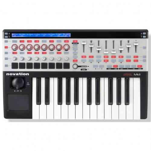 MIDI клавиатура Novation 25 SL MkII #1 - фото 1
