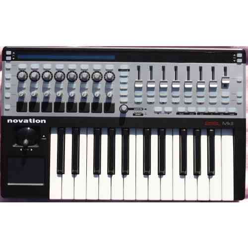 MIDI клавиатура Novation 25 SL MkII #2 - фото 2