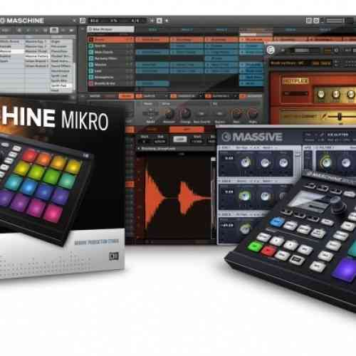 Native Instruments Maschine Mikro MkII Blk