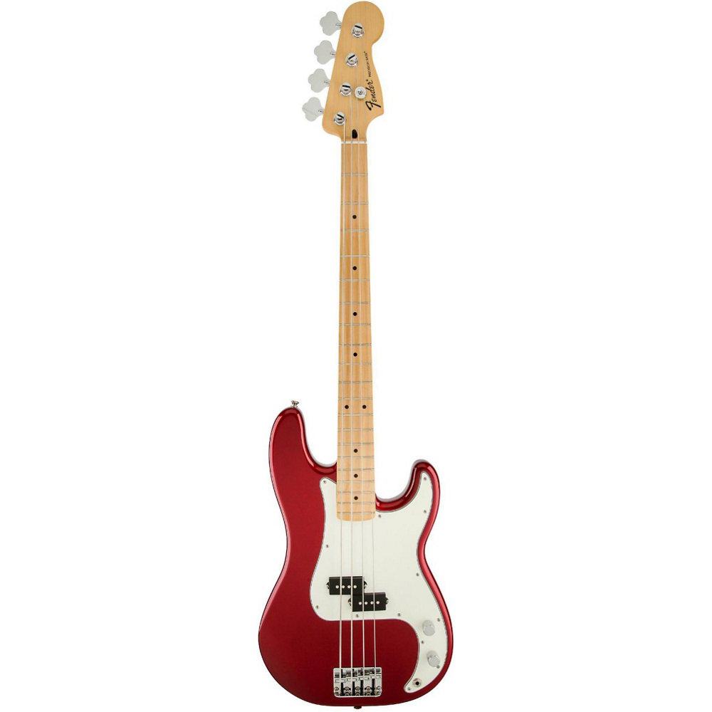 Fender STANDARD PRECISION BASS MN CANDY APPLE RED TINT - фото 3