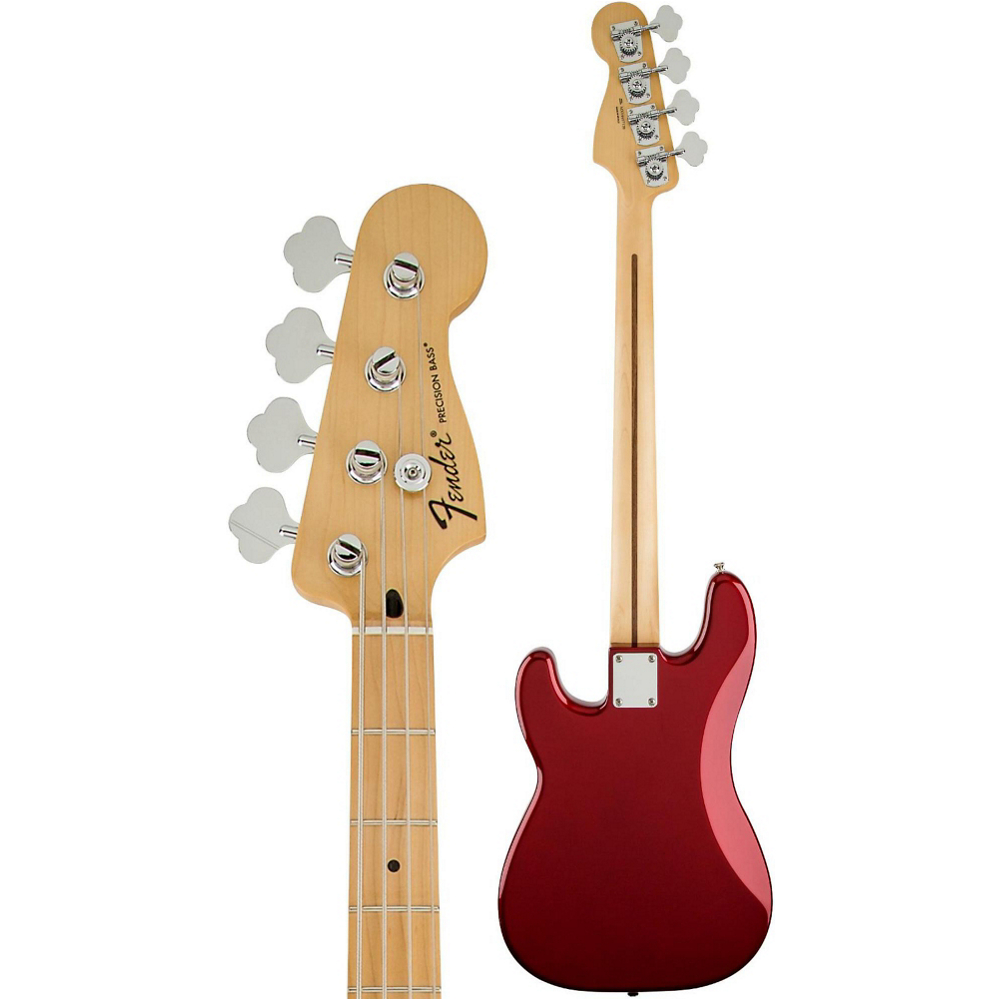 Fender STANDARD PRECISION BASS MN CANDY APPLE RED TINT - фото 4