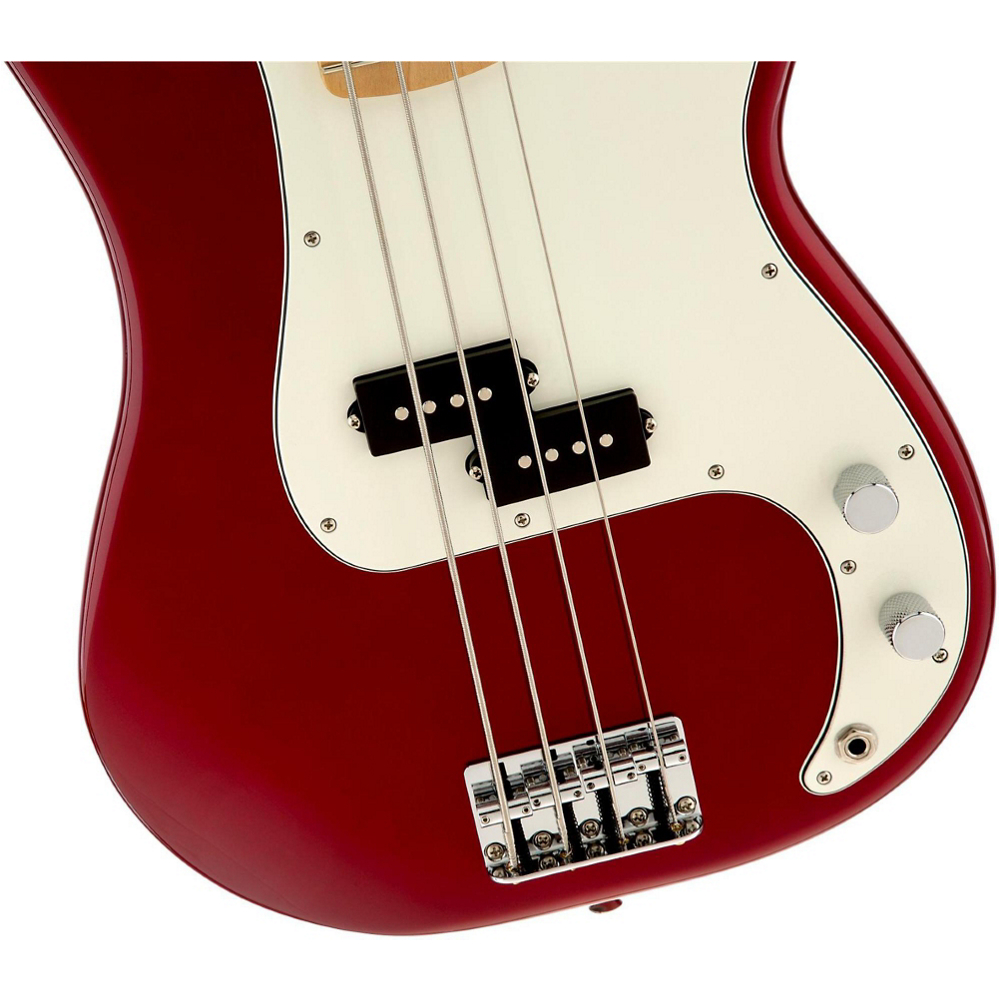 Fender STANDARD PRECISION BASS MN CANDY APPLE RED TINT - фото 6