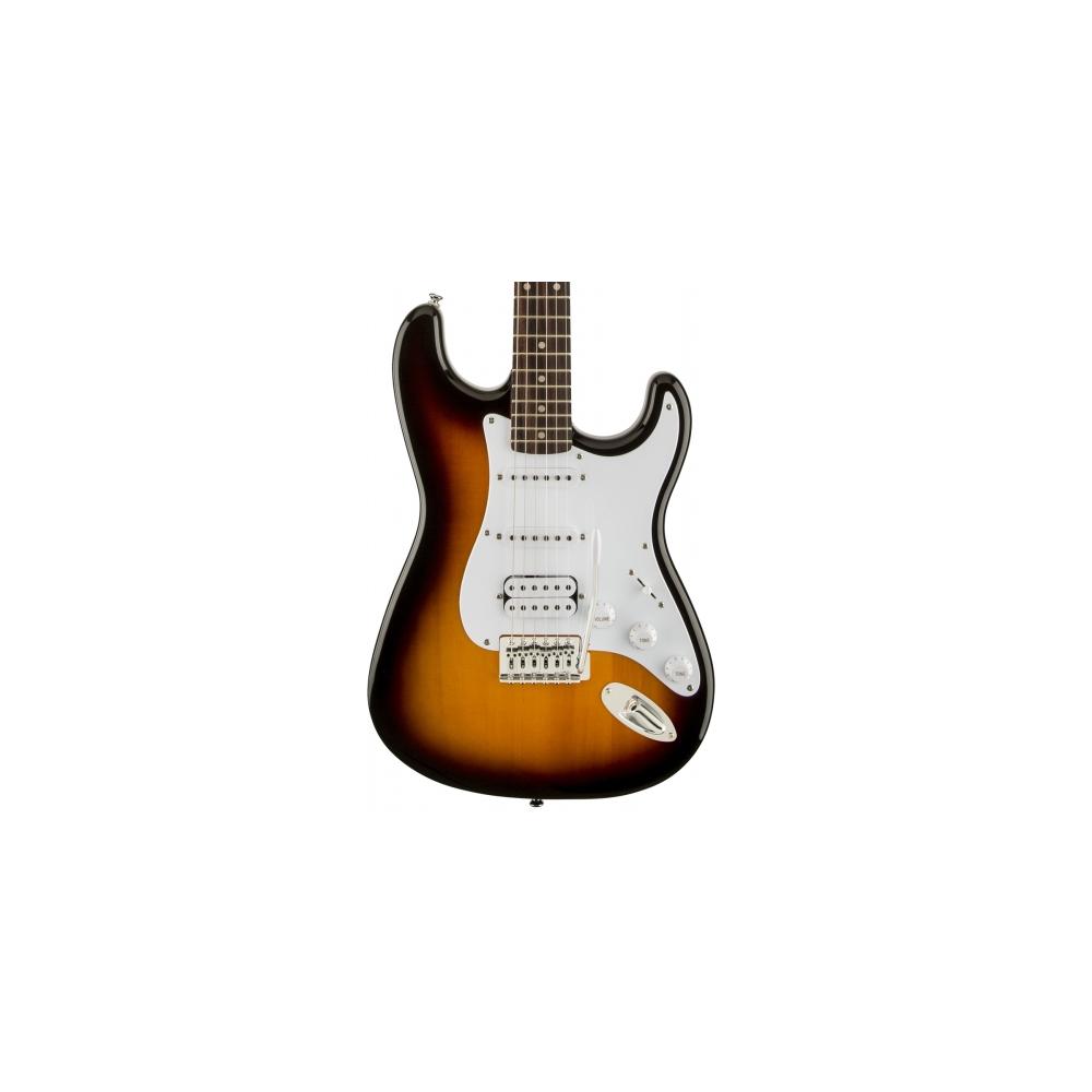 Fender Squier Bullet Strat Tremolo HSS RW Brown Sunburst - фото 1