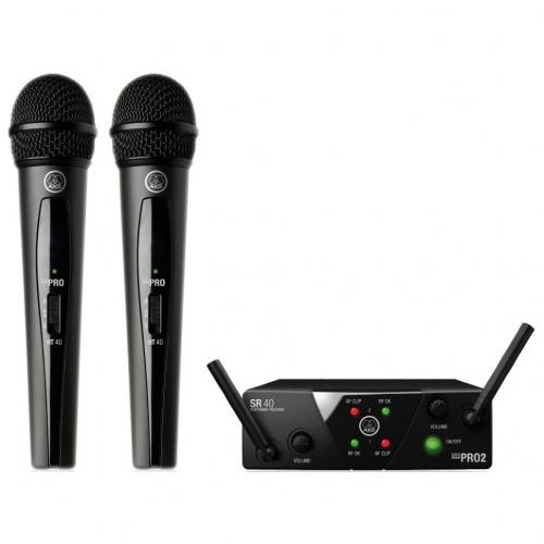 Вокальная радиосистема AKG WMS40 MINI2 VOCAL SET BD US45A/C (660.700&662.300)  #1 - фото 1