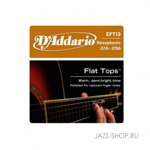 Струны для акустической гитары D'Addario EFT-13 #1 - фото 1