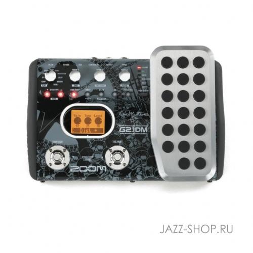 Процессор для электрогитары ZOOM G2.1DM (Dave Mustaine) + AD16 #1 - фото 1