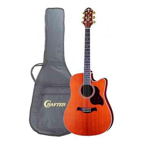 Электроакустическая гитара CRAFTER DE-7 #3 - фото 3