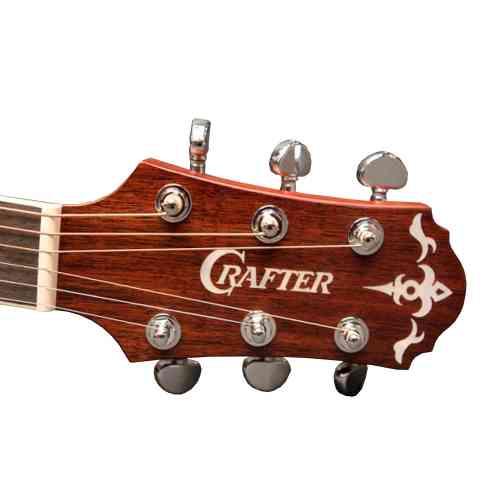 Электроакустическая гитара CRAFTER DE-7 #4 - фото 4