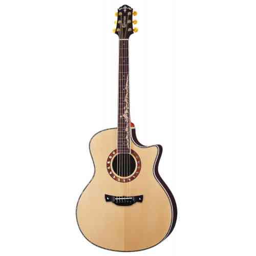 Электроакустическая гитара CRAFTER ML-Rose Plus #2 - фото 2