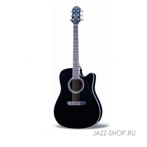 Электроакустическая гитара Crafter ED-75 CEQ/BK #1 - фото 1
