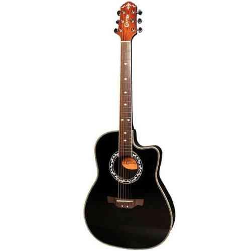 Электроакустическая гитара Crafter FSG-270EQ BK #2 - фото 2