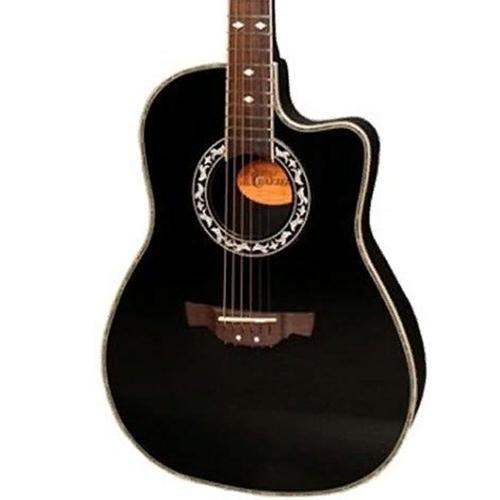 Электроакустическая гитара Crafter FSG-270EQ BK #1 - фото 1