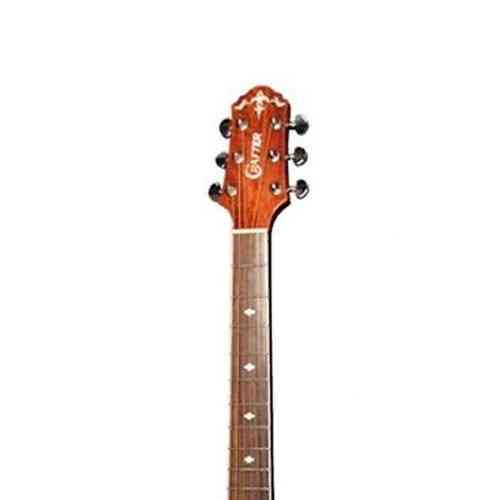 Электроакустическая гитара Crafter FSG-270EQ BK #3 - фото 3