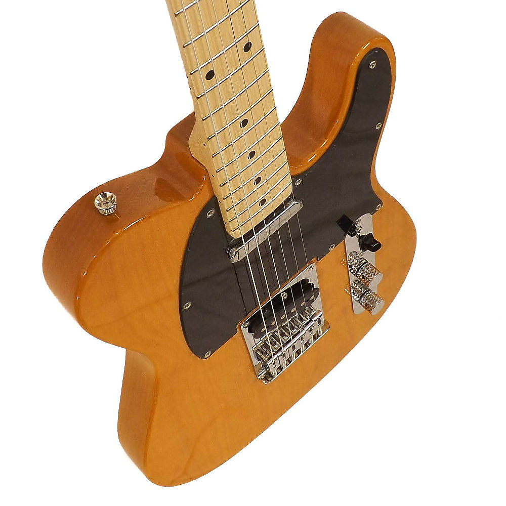 Fender SQUIER AFFINITY TELECASTER MN BUTTERSCOTCH BLONDE - фото 4