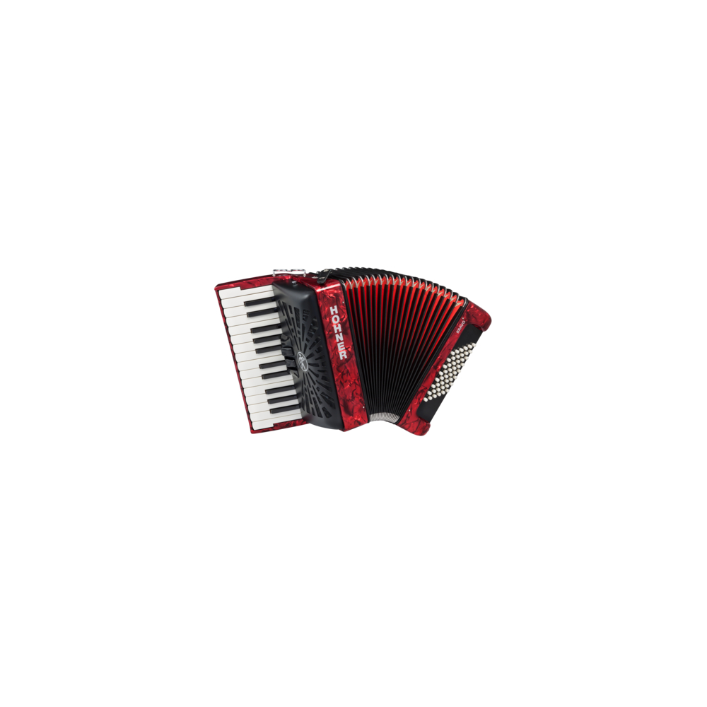 Hohner The New Bravo II 48 red (A16531/A16532) - фото 1