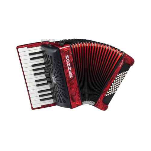 Hohner The New Bravo II 48 red (A16531/A16532)