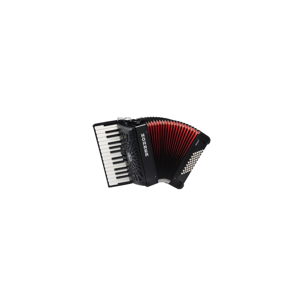 Hohner The New Bravo II 48 black (A16521/A16522) - фото 1
