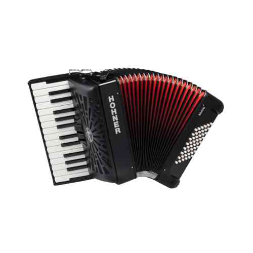 Hohner The New Bravo II 48 black (A16521/A16522)
