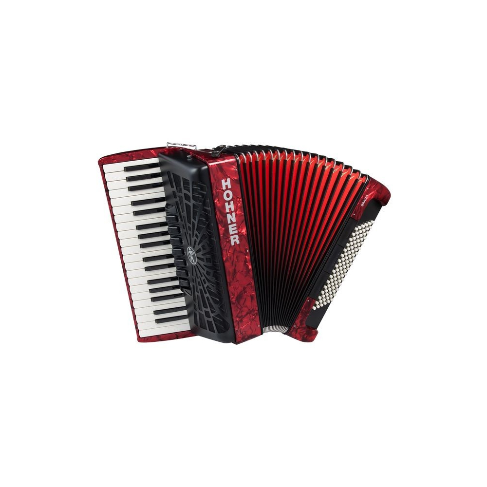 Hohner The New Bravo III 96 red (A16731) - фото 1