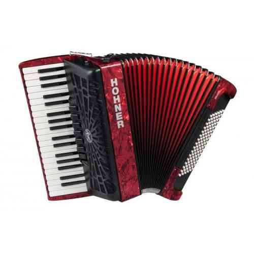 Hohner The New Bravo III 96 red (A16731)