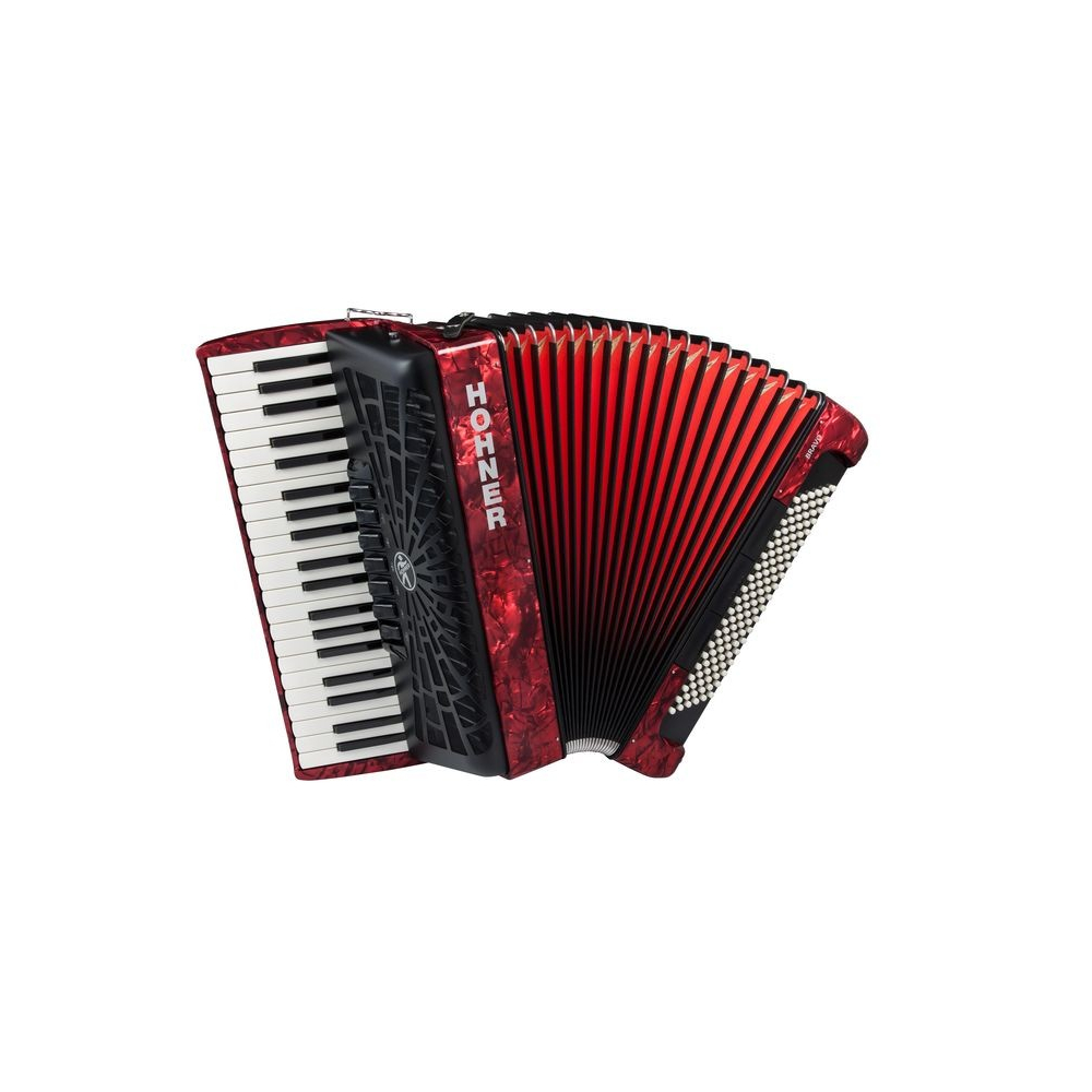 Hohner The New Bravo III 120 red - фото 1