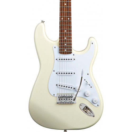 Fender Squier Bullet Strat Tremolo HSS RW Arctic White - фото 1