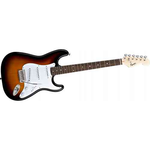 Электрогитара Fender SQUIER Bullet With Trem RW Brown Sunburst #2 - фото 2