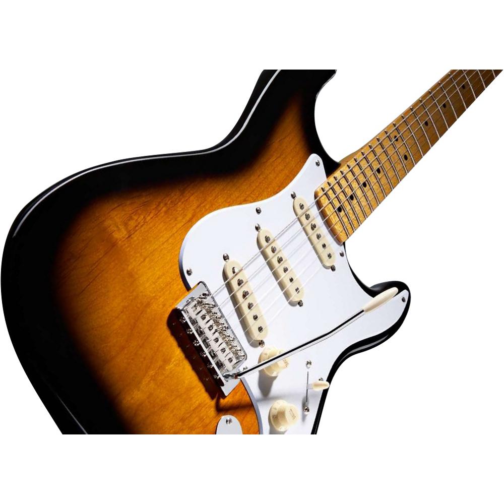 Fender Squier Classic Vibe Strat 50`s 2-Color Sunburst - фото 2