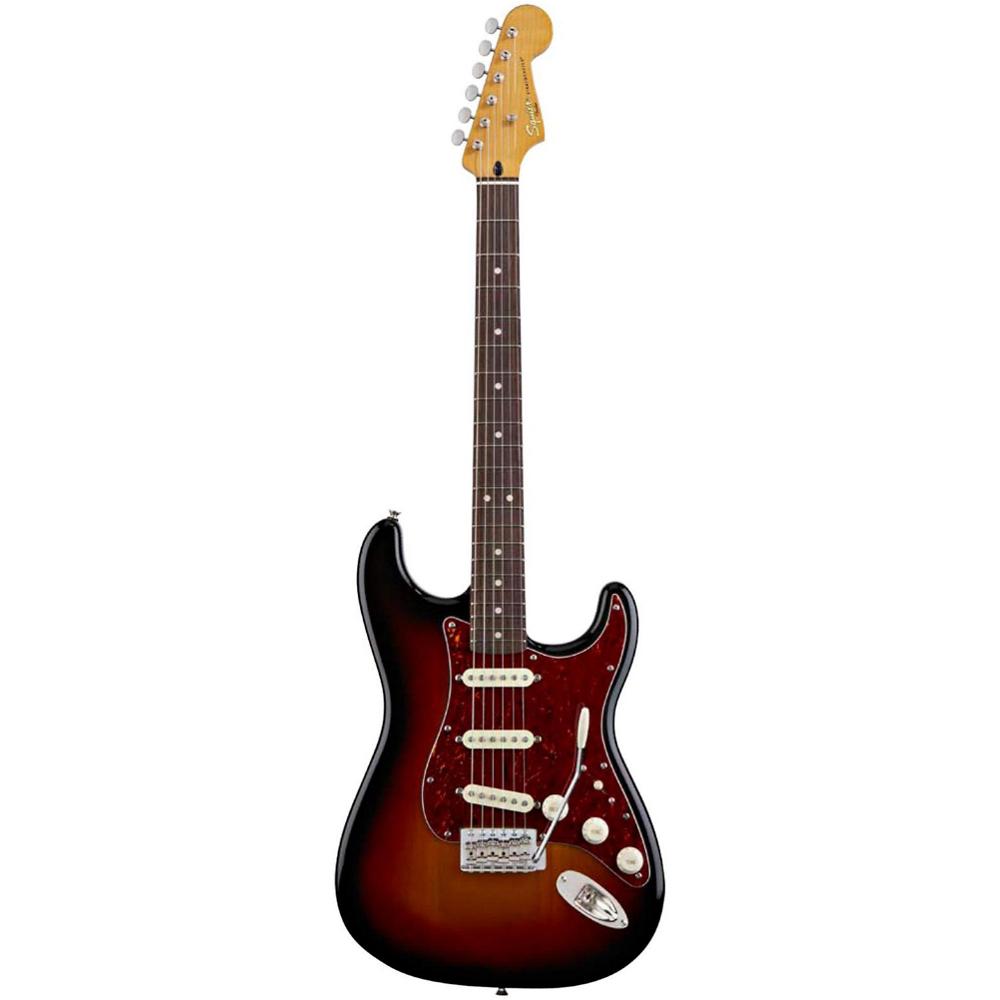 Fender SQUIER CLASSIC VIBE STRAT 60`s 3-COLOR SUNBURST - фото 3