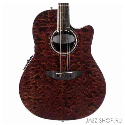 Ovation CS28P-TGE Celebrity Standard Plus Super Shallow Tiger Eye