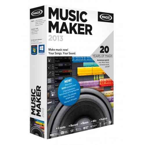 MAGIX Music Maker 2013