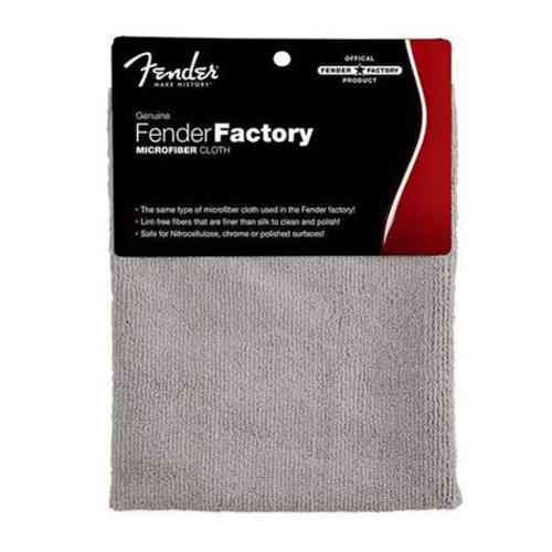 Fender Factory Microfiber Cloth Gray
