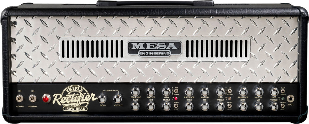 MESA BOOGIE NEW TRIPLE RECTIFIER SOLO HEAD 150W - фото 1