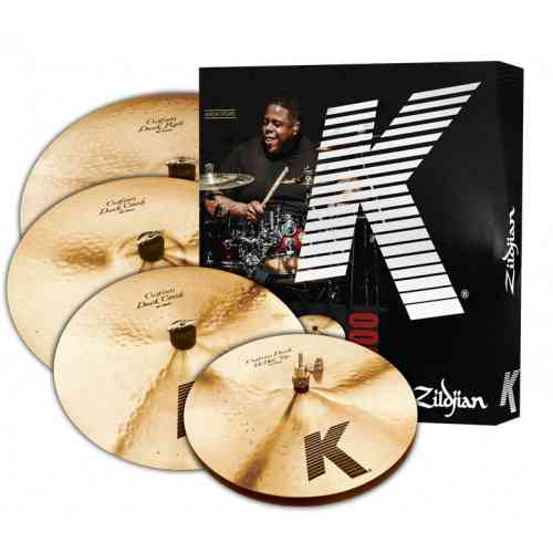Zildjian K Custom DARK 5 PC Cymbal Set