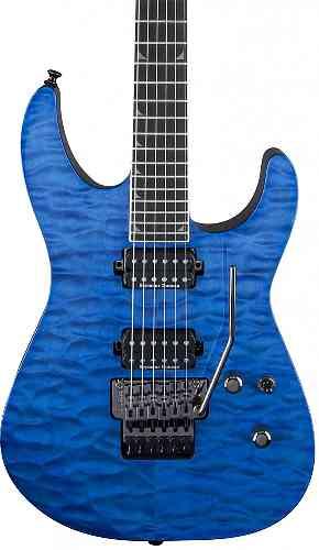 Jackson Pro Series Soloist SL2Q MAH, Ebony Fingerboard Trans Blue