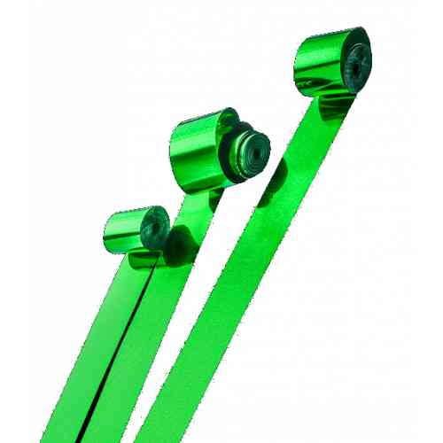 Global Effects серпантин металлизированный, 2смх10м зеленый