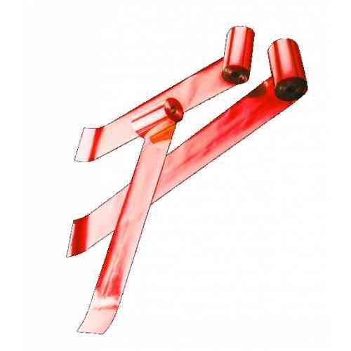Global Effects серпантин металлизированный, 1,5смх5м красный