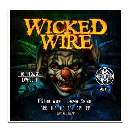 Kerly KXW-0944 Wicked Wire Roundwound Tempered