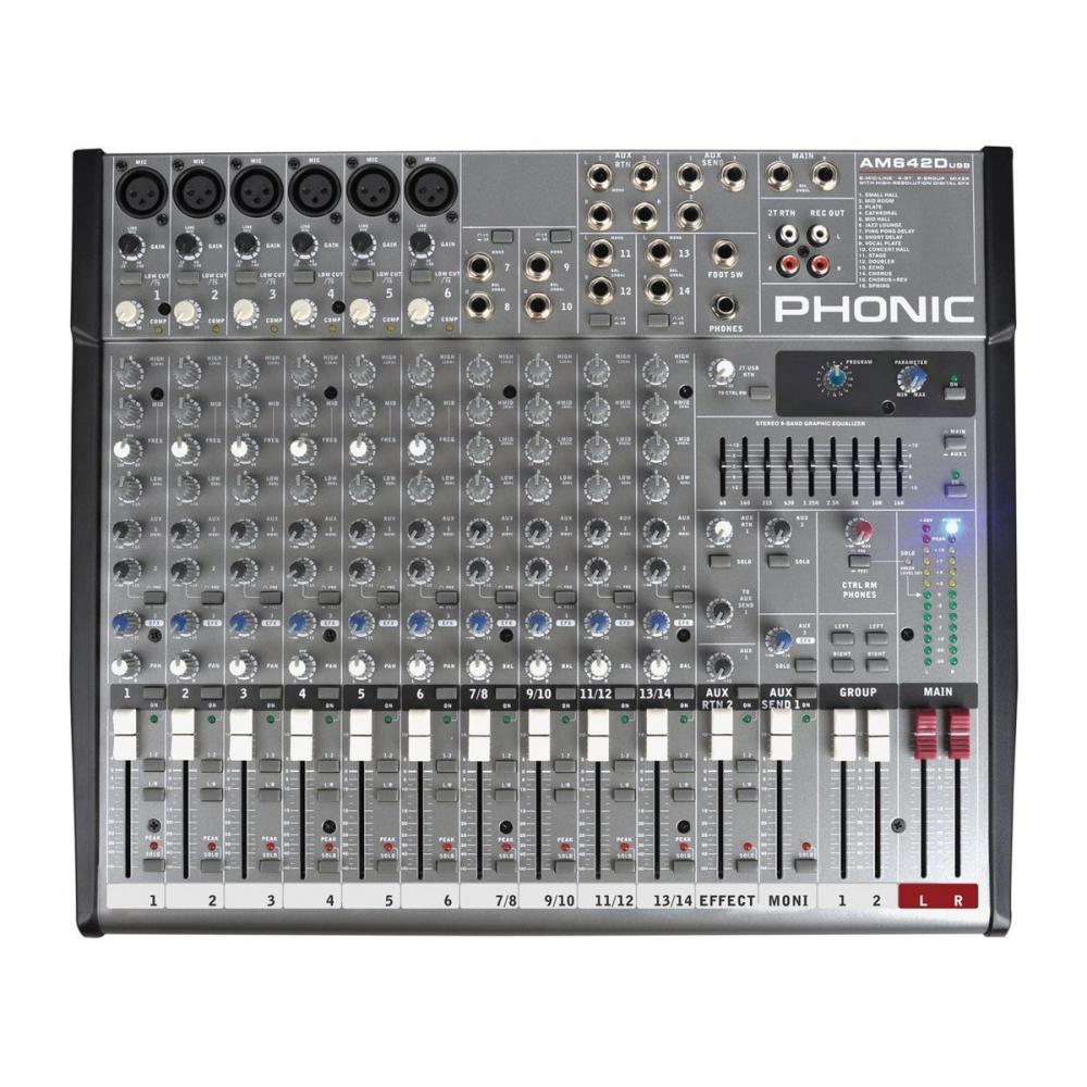 PHONIC AM642D USB - фото 3