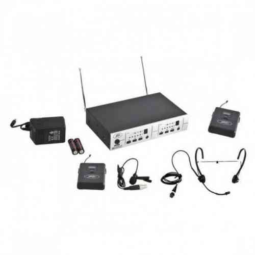 Peavey PV 16DR CHANNEL UHF DUAL RECEIVER - BL/BHS