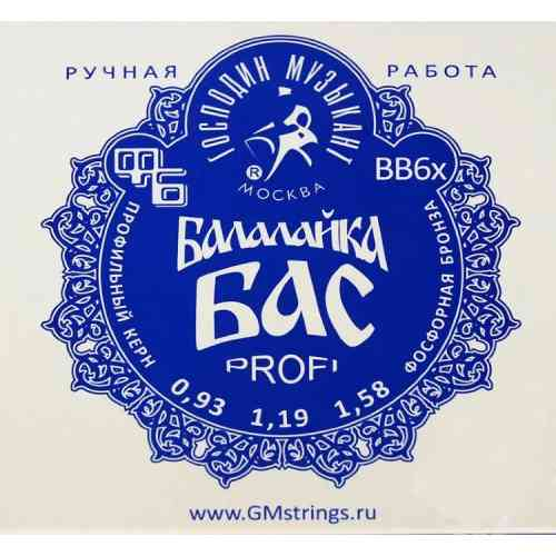 Господин Музыкант BB-6x ФБ