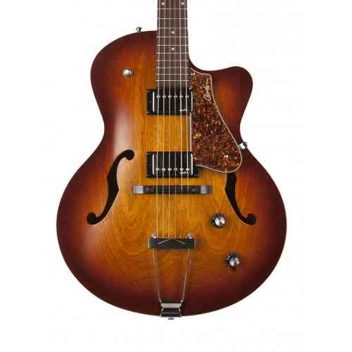 Godin 039289 5th Avenue CW Kingpin II HB Cognac Burst