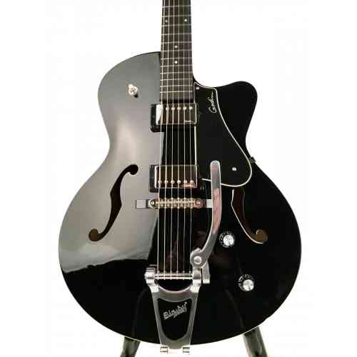 Godin 5th Avenue Uptown Black GT w/Bigsby