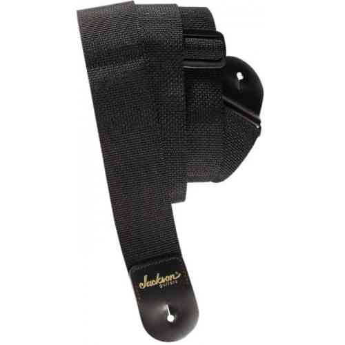 Jackson 2' Poly Guitar Strap Black