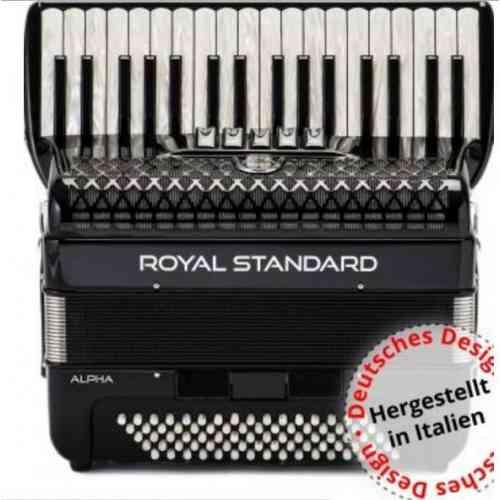 Royal Standard Alpha 72 BK 34/72-3/4-5+3