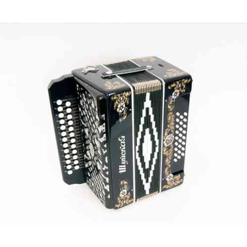 Шуйская гармонь C51X-A-BLACK 25х25-III