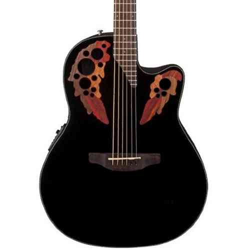 Ovation CE44-4 Celebrity Elite Mid Cutaway Black