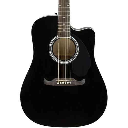 Fender FA-125CE Dreadnought Black