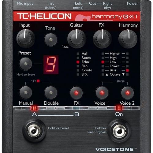 Процессор эффектов TC HELICON VoiceTone Harmony-G XT #1 - фото 1